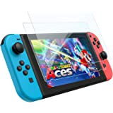 2枚入りfor Nintendo Switch 強化ガラス 保護 フィルム ブルーライト 日本硝子 硬度9H 指紋防止…