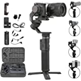 FeiyuTech G6 Max カメラジンバルスタビライザー,ミラーレスカメラ用 Sony A6400/A6300,RX100シリーズ アクションカメラ GoPro 8/7/6 スマートフォン対応-並行輸入品