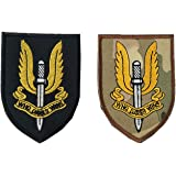 United Kingdom Special Air Service PatchesBritish SAS Who Dares Wins Military Patch Fabric Embroidered Tactical Badges for C