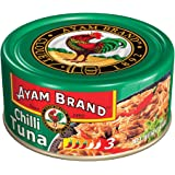 Ayam Brand Chilli Tuna | Wild Caught Premium Tuna | Hot & Spicy | Protein, Omega 3, Vitamin E, B6 & B12 | Halal & Healthier C