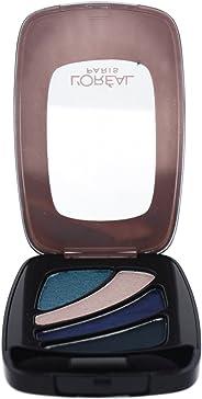 L'Oreal Paris Colour Riche Eyeshadow Quad, 211 Blue Haute Couture, 36g