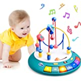 GJZZ Baby Toys 6 to 12 - 18 Months, Bead Maze Einstein UFO Toy with Music, Lights, and Learning Songs for Babies. Toddler Toy
