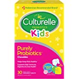 Culturelle Kids Chewables Daily Probiotic Formula, One Per Day Dietary Supplement, Contains 100% Naturally Sourced Lactobacil