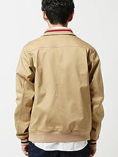 Tipped Harrington Jacket 11-18-3834-060: Beige
