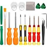 Keten Triwing Screwdriver for Nintendo, 17in1 Professional Full Security Screwdriver Game Bit Repair Tool Kit for Nintendo Sw