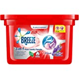 BREEZE Laundry Capsules Fresh Lavender 3-in-1 Power Laundry Capsules, 270 grams