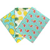 UCGOU 4x8 Inches Mixed Pattern Designer Poly Bubble Mailers Padded Envelopes Shipping Bags 48 Pcs Total - 16 Pcs Each of 3 Di