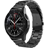 Simpeak Band Compatible with Samsung Galaxy Watch 3 45mm / Gear S3 Frontier/Classic/Galaxy Watch 46mm, Premium Stainless Stee