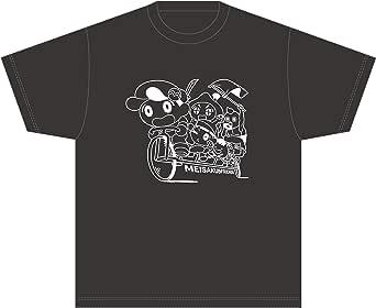 Tシャツ「あはれ!名作くん」/ブラック Sサイズ(自転車)