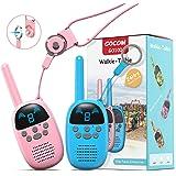 GOCOM Walkie Talkies for Kids, 15 Miles Long Range Kids Toys & Handheld Kids Walkie Talkies, 9 Channels Two-Way Radio Boys &