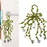 Witch Bells Protection Door Hanger Wind Chimes Entry Way Protection Bells Hanging Pendants Bells for Positive, Decor