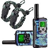 Walkie Talkies for Kids 22 Channel 2 Way Radio 3 Miles Long Range Handheld Walkie Talkies Durable Toy Best Birthday Gifts for