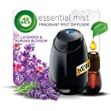 Air Wick Essential Mist Fragrance Diffuser Starter Kit, Lavender and Almond Blossom, 1ct