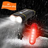 Bike Light Front 1000 Lumen USB Rechargeable Cycling Headlight Quick-Release Bicycle Flashlight Easy Install Perfect for Kids
