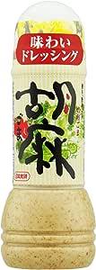 日本食研 味わいドレッシング 焙煎ごま 300ml×3本