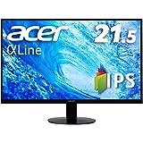 Acer IPSディスプレイ SA220QAbmi 21.5型ワイド IPS 非光沢 フルHD 4ms (GTG) 75…