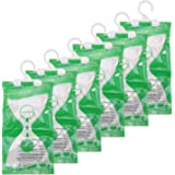 Somune Wardrobe Moisture Absorber Packets (6 Pack), Hanging Closet Dehumidifier Bags, Humidity Packs Desiccant Hanging Bag fo