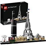 LEGO Architecture Skyline Collection 21044 Paris Skyline Building Kit with Eiffel Tower Model and Other Paris City Architectu