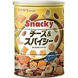 東洋ナッツ食品 チーズ&スパイシー缶 300g