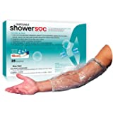 PICC LINE COVER for showers - 25 Pack - SMALL - Elbow/Knee Waterproof Wound Protection - Disposable