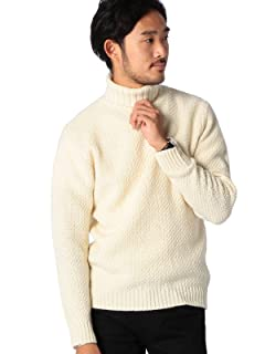 Middle Gauge Turtleneck Sweater 11-15-0544-823: Off White