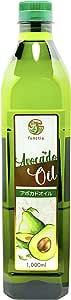 functia アボカドオイル【大容量1リットル】1,000ml ペットボトル(ピュアオイル)functia Pure Avocado Oil 1,000ml