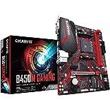 Gigabyte B450M Gaming AMD Ryzen Gen3 AM4 mATX 2xDDR4 3xPCIe HDMI 1xM.2 4xSATA RAID GbE LAN 6xUSB3.1 6xUSB2.0 RGB ~GA-B450M-DS