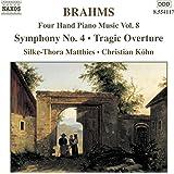 Brahms: Four-Hand Piano Music, Vol. 8