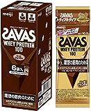 ザバス(SAVAS) ホエイプロテイン100 リッチショコラ味 トライアルタイプ 10.5g×6袋