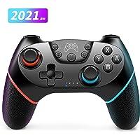 Switch コントローラー【2021最新型】スイッチ コントローラー HD振動 6軸 ジャイロセンサー搭載 スイッチプ…