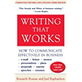 Writing That Works, 3rd Edition: How to Communicate Effectively in Business