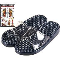 (マイカイラボ)MAIKAI LAB 履くだけ 足つぼ 健康サンダル 足 ツボ マップ セット インディゴブルー S