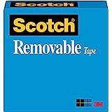 Scotch Removable Tape 25mm x 66m 811