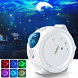 Jomst Star Projector,3 in 1 LED Moon and Star Lights,with Voice Control, 6 Lighting Effects,360-Degree Rotating Sky Laser Pro