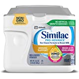 Similac Pro-Advance Infant Formula with 2'-FL Human Milk Oligosaccharide (HMO) for Immune Support, 23.2 ounces