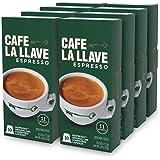 Café La Llave Nespresso OriginalLine-Compatible Espresso Capsules, 80-count