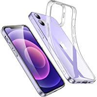 ESR iPhone 12 用 ケース iPhone 12 Pro 用 ケース 6.1インチ 透明 軽量 tpuカバー…