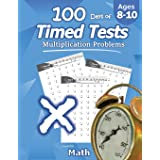 Humble Math - 100 Days of Timed Tests: Multiplication: Grades 3-5, Math Drills, Digits 0-12, Reproducible Practice Problems: