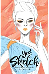 YES SKETCH: Baby Blue Girl - Book for Sketching, Drawing, Doodling, Journaling and Notetaking (Sketchbook) ペーパーバック