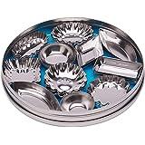 Fox Run 3620 Mini Tartlet Set, Tin Plated Steel, 36-Piece