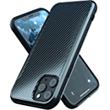 iPhone 11 Pro Max Case | Shockproof | 12ft. Drop Tested | Carbon Fiber Case | Wireless Charging | Lightweight | Scratch Resis