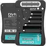 【Dlyfull B2 】ユニバーサル バッテリーテスターLCD表示、マルチ用途電池チェッカー 単1 単2 単3 単4…