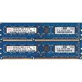 hynix PC3-10600U (DDR3-1333) 2GB x 2枚組 合計4GB 240ピン DIMM デスクトップパソコン用メモリ 動作保証品【中古】