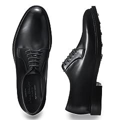 Plain Toe Blucher (Edward) 829960: Black