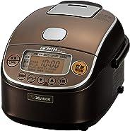 象印 炊飯器 圧力IH式 3合 極め炊き 黒まる厚釜 ブラウン NP-RL05-TA