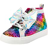 JoJo Siwa Girls High Top Fashion Sneakers (Little Kid/Big Kid)