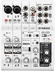 ヤマハ YAMAHA ウェブキャスティングミキサー オーディオインターフェース 6チャンネル AG06 インターネット配信に便利な機能付き 音楽制作アプリケーションCubasis LE付き