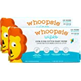 100% Pure Cotton Dry Wipes | 200 Count | Use Wet or Dry | Soft & Sensitive | Hypoallergenic | Extra Strong & Absorbent | Perf
