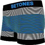 BETONES ビトーンズ メンズ ボクサーパンツ NEON4 BLUE ローライズ アンダーウェア 無地 ブランド 男性 下着 誕生日 プレゼント