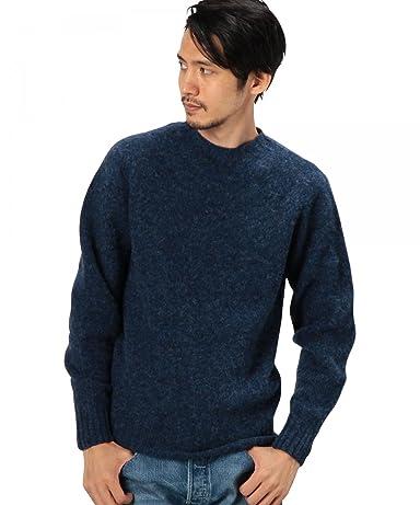 Shaggy Dog Wool Crewneck Sweater 3213-399-0427: Royal